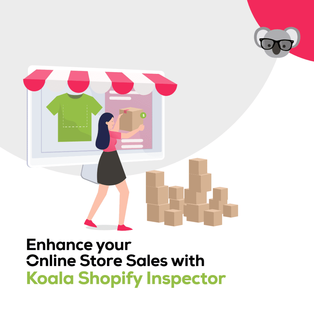 chrome extension shopify inspector - koala apps