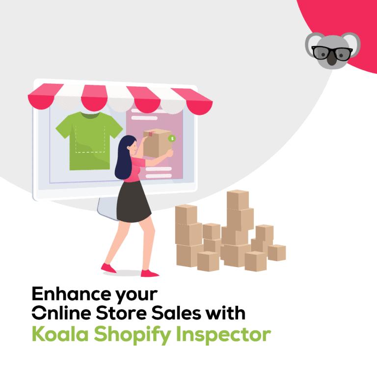 chrome extension shopify inspector - koala apps