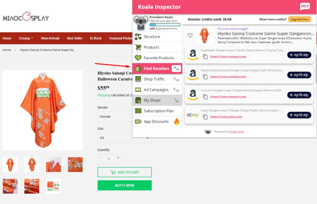 koala-inspector-find retailers
