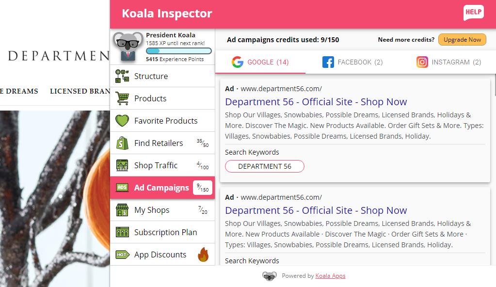 koala-inspector-ad campaigns